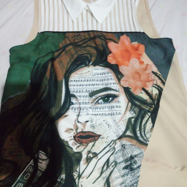 REPRICED!Plains and prints top