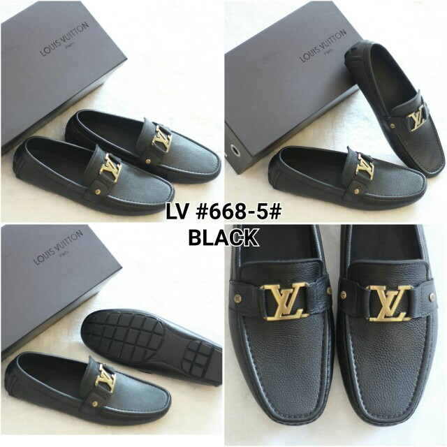 PO.3-5hari. Premium quality with grade Louis Vuitton Shoes for men. Size 40 -sole26.5cm, 41 -sole27cm, 42 -sole27.5cm, 43 -sole28cm. (LIMITED STOCK). 2 Warna.