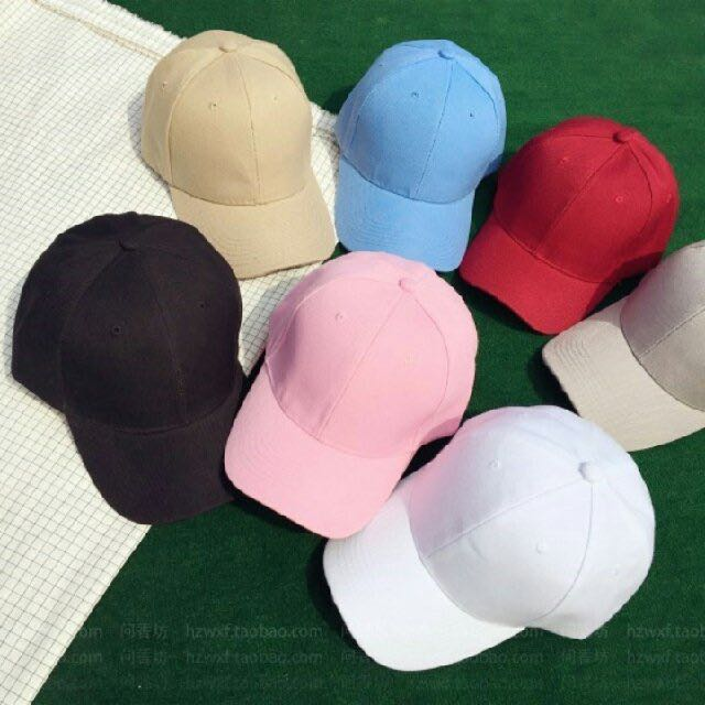 PO  Singled Coloured Baseball Caps 205c600a711