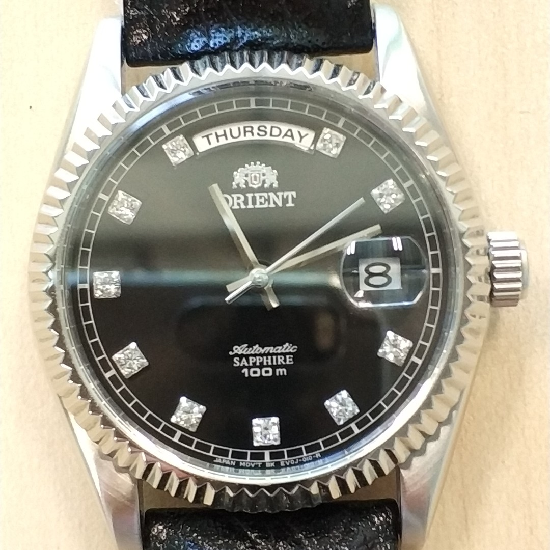 Pre Loved Orient President Day Date Style Automatic Watch