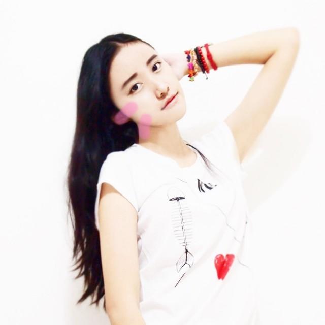 (PRELOVED) ZARA TRF Korea Original White Tee/Tshirt
