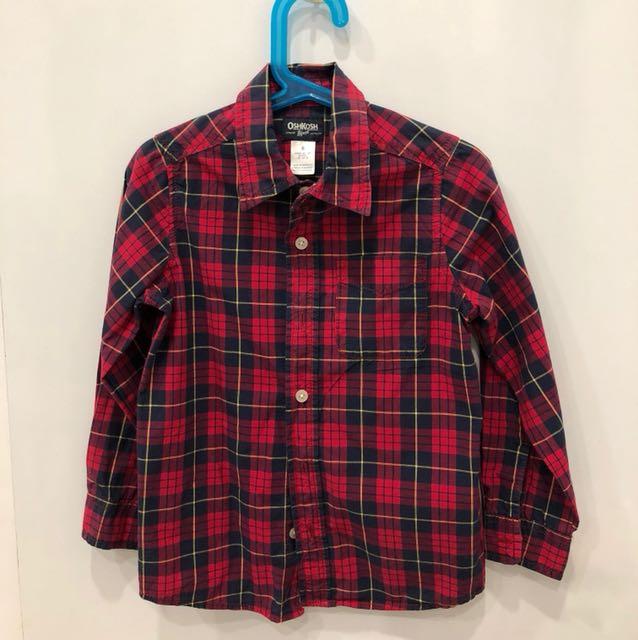 Red Chequered OshKosh Shirt