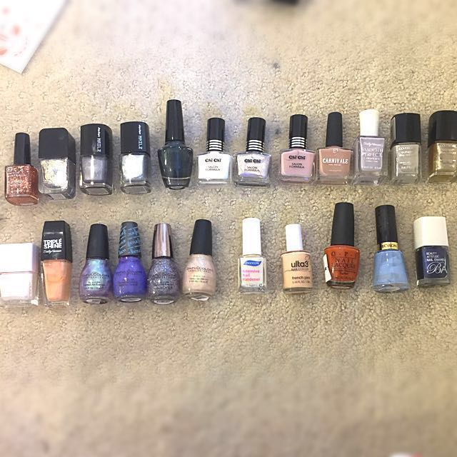 *REDUCED* HUGE Nail Polish Declutter
