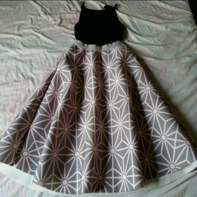 REPRICED! Elegant Balloon Type Skirt