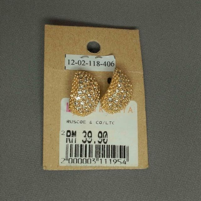 Ruscoe & Co Gold Earrings (From Malaysia)