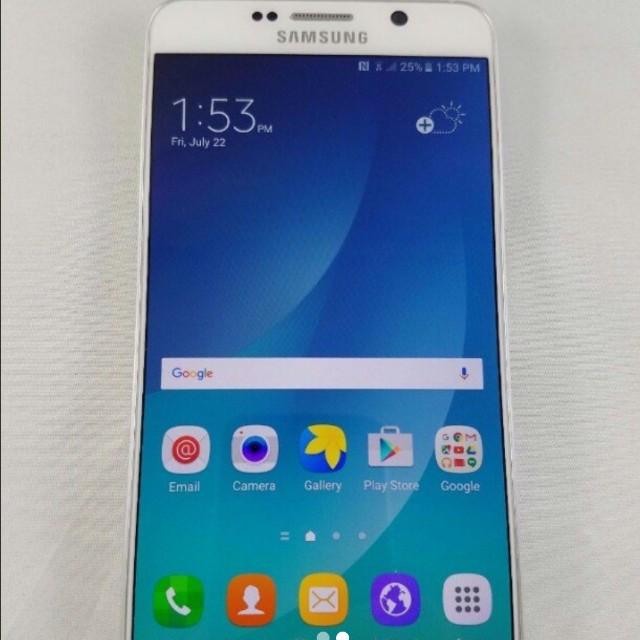 Samsung Galaxy note5 白色