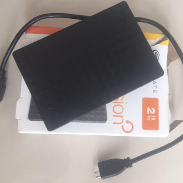 SEAGATE portable Drive 2TB