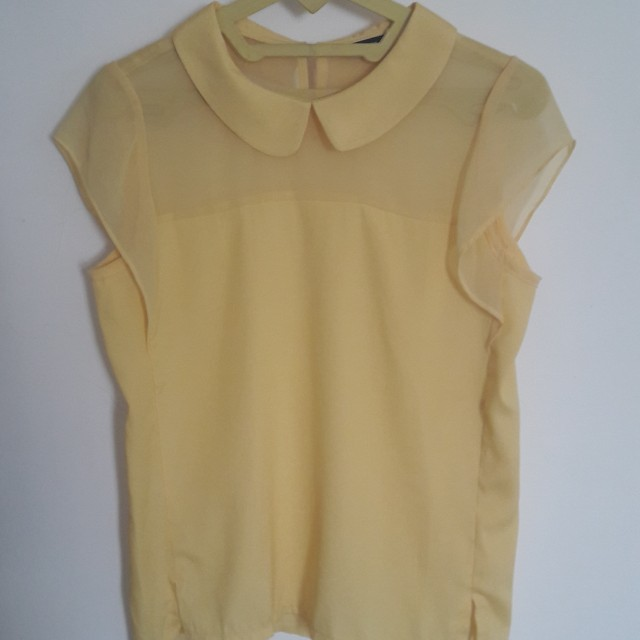 SELLY YELLOW TOP