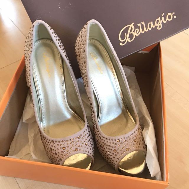 Sepatu Nude Heels / pump shoes