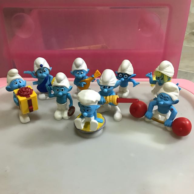 Smurf Figurines Set