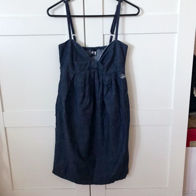 Study Denim Dress in Size 8