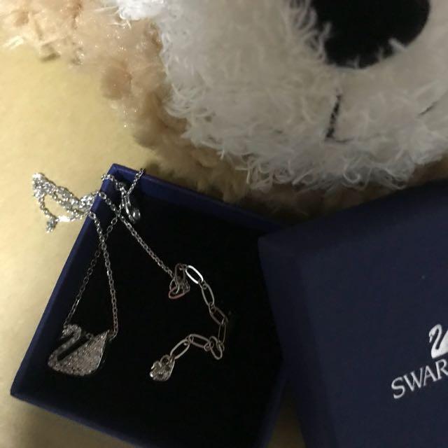 Swarovski 施華洛世奇 天鵝 項鍊
