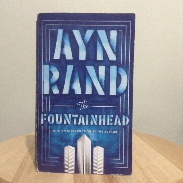 The Fountainhead by Ayn Rand (MMPB)