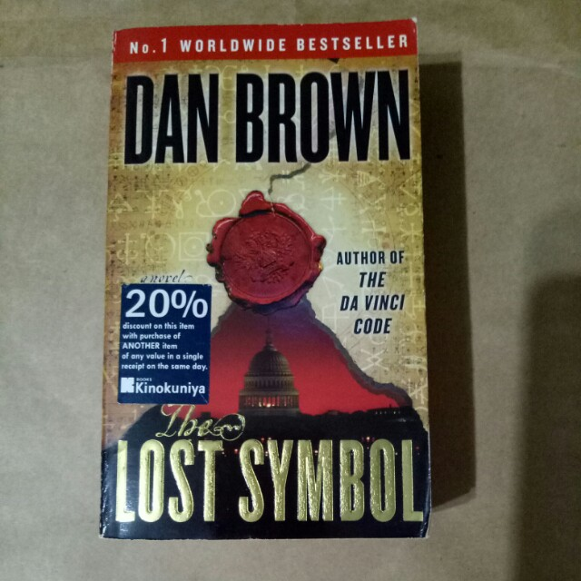 The Lost Symbol By Dan Brown Books Stationery Fiction On Carousell