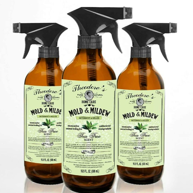 Theodore's All Natural Mold & Mildew Disinfectants