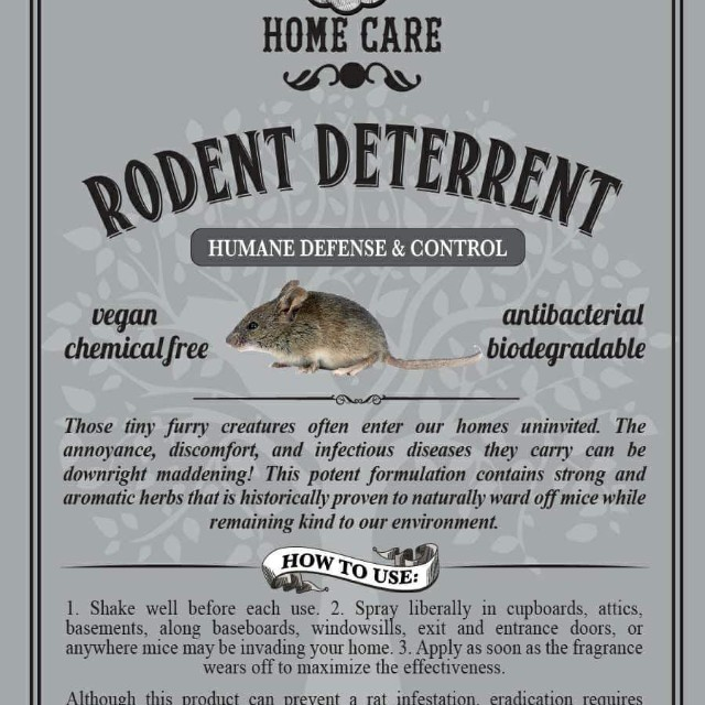 Theodore's Natural Rodent Deterrent spray