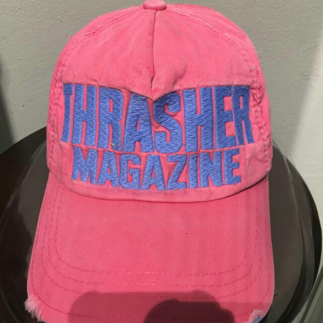 dc13777f thrasher magazine cap, Men's Fashion, Accessories, Caps & Hats on Carousell