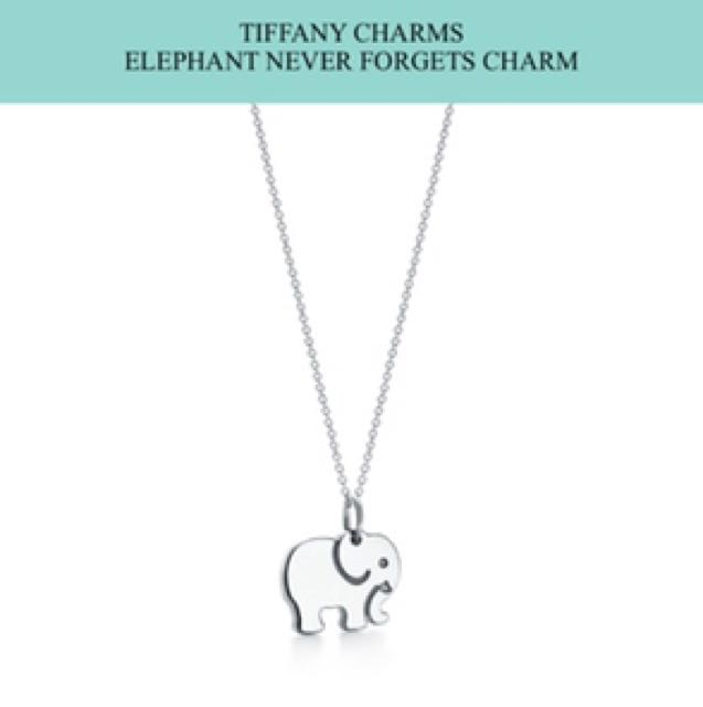 Tiffany Charm never forget