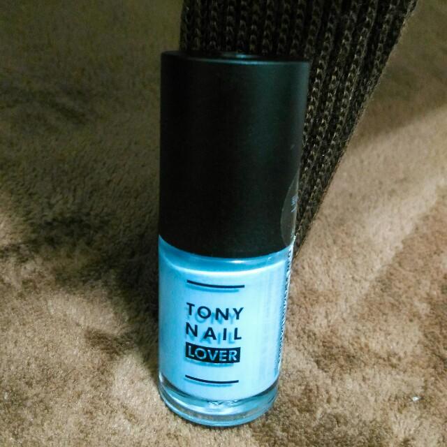 Tonymoly 指甲油 #天空藍