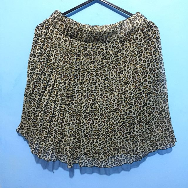 Unbranded Leopard Skirt