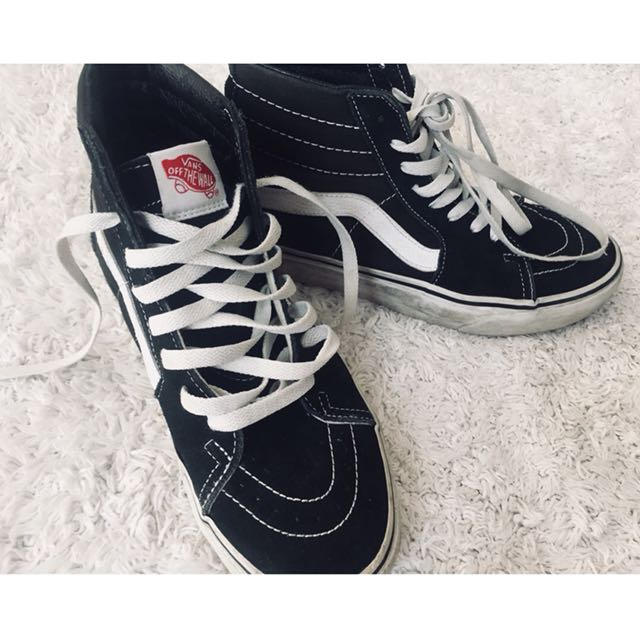 Vans Off The Wall High-tops (Authentic)