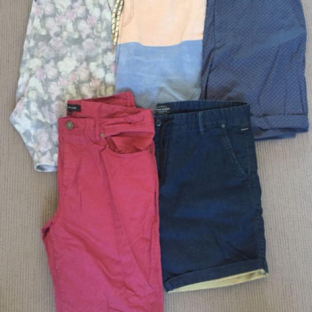 Various Mens Shorts