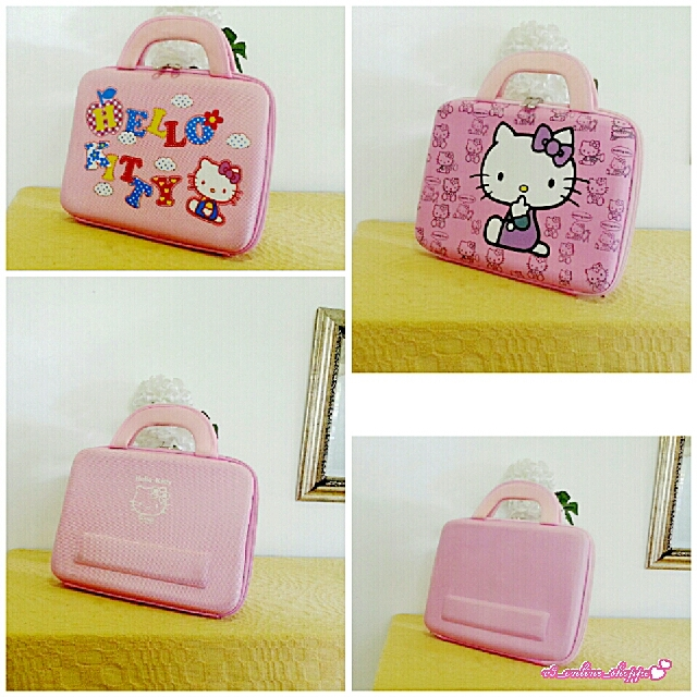 Vintage Hello Kitty Hardcase Laptop Protective Bags [Bundle]
