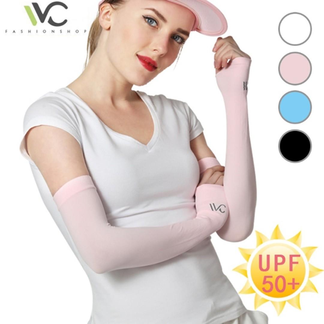 韓國VVC 正品 冰絲專利防曬袖套 ~專利光學布 透氣耐用不勾絲 非99廉價款