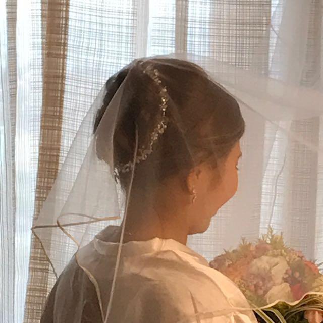 Wedding Hair Dress