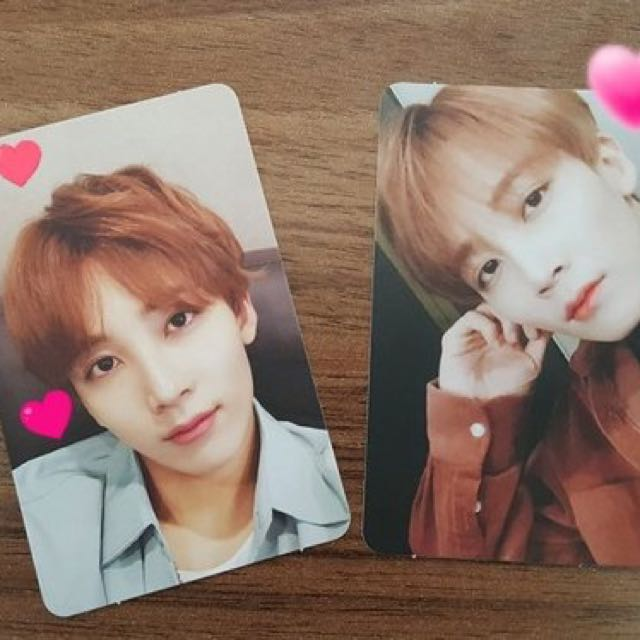 [WTB] Seventeen Jeonghan Director's Cut Official Photocards