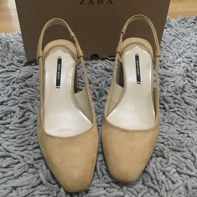 Zara Block Heels Size 38