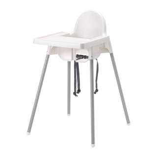 Ikea Antilop High Chair with Safety Chair