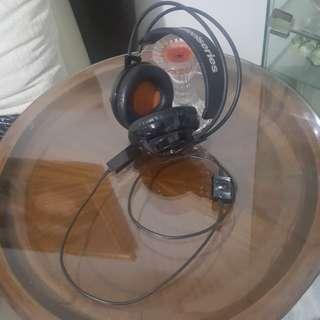 Steelseries Siberia V2 heat orange