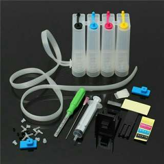 4 Colour Dye Ink Catridge CISS fitting fits with Canon series printer