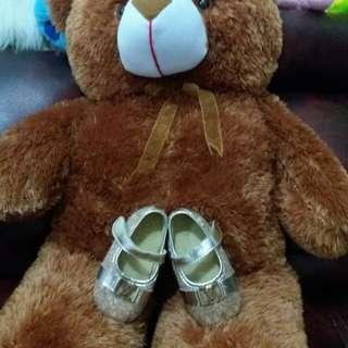 Sepatu Pesta Anak *14 * GOLD