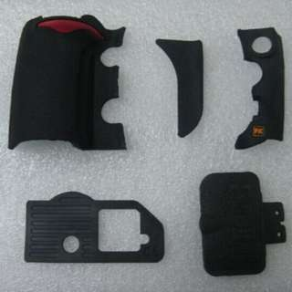 INSTOCK!! NEW NIKON D700 BODY RUBBER LEATHER PARTS (GETAH BODY 3RD PARTY)