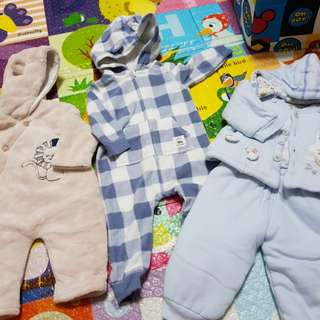 Winter clothes for baby boy (bundle)