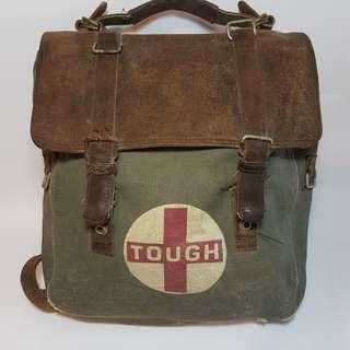 Vintage knapsack