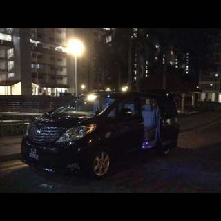 Singapore/JB limo service with driver.