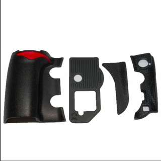 INSTOCK!! NEW NIKON D300S BODY RUBBER LEATHER PARTS (GETAH BODY 3RD PARTY)