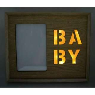 Light Picture Frame (Baby)