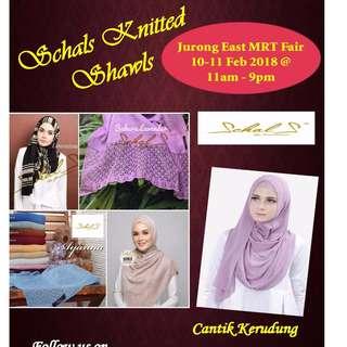 SCHALS Knitted Semi-Instant Shawls