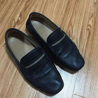 Authentic Mens Black Bally Loafer