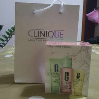 Brand New Clinique 3-Step Skincare System