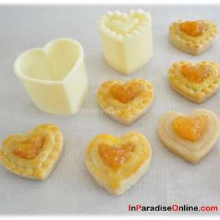Heart Shaped Pineapple Tart Cookie Cutter