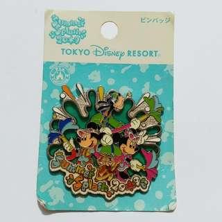 東京迪士尼徽章