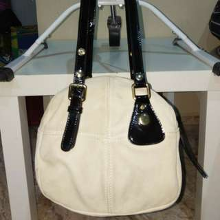 Cross Body Suede Leather Minelli Renato