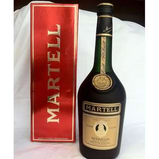 80's liquor collection Martell Medalillon VSOP Cognac Special Reserve