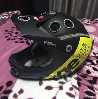Mtb full face helmet
