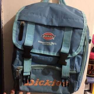 Dickies 街頭後背包水藍色 雙肩背包 後背包 便宜賣